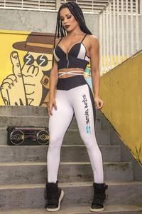Bilde av Hipkini Power Step Tights - White/black L