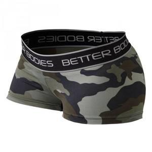 Bilde av Better Bodies Fitness Hot Pant - Green Camo S - 1 STK