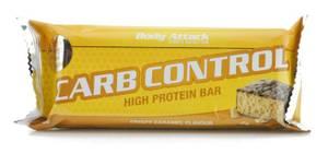 Bilde av Body Attack Carb Control Protein Bar 100g, Crispy Caramel
